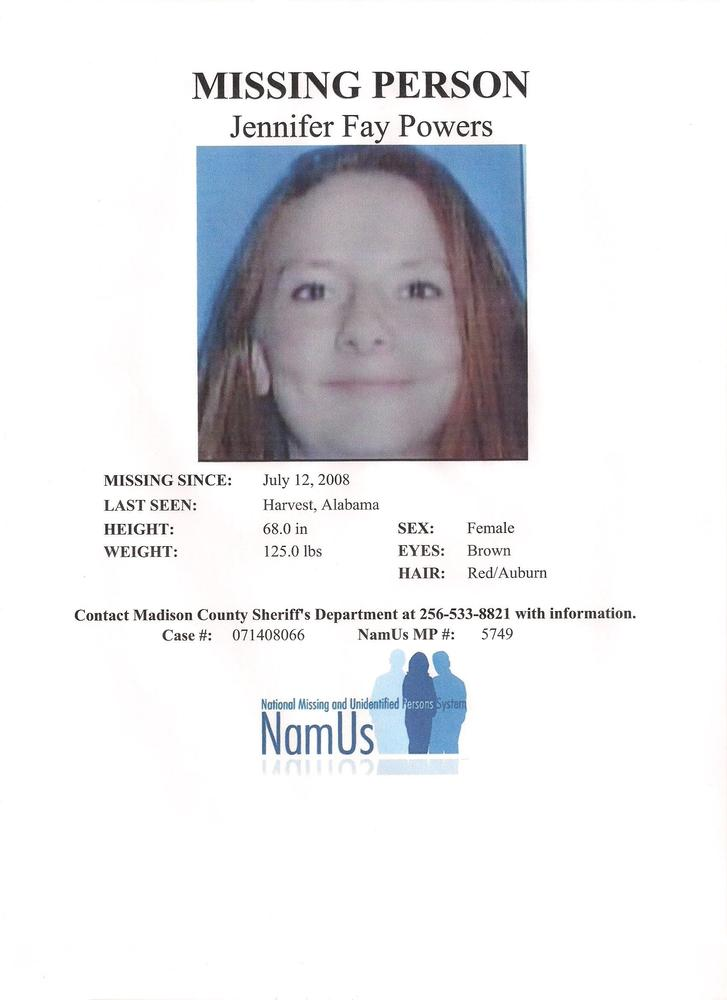Missing Persons - Madison County Sheriff's Office